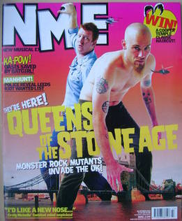 <!--2002-10-26-->NME magazine - Queens Of The Stone Age cover (26 October 2