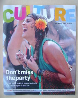 <!--2013-05-05-->Culture magazine - Don't Miss the Party cover (5 May 2013)