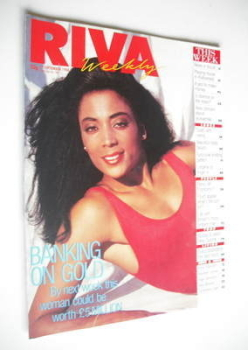 Riva magazine - 27 September 1988 - Florence Griffith-Joyner cover