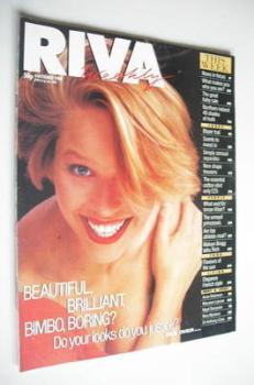 <!--1988-10-04-->Riva magazine - 4 October 1988