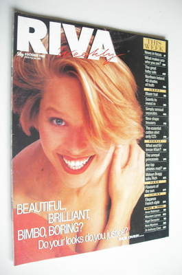 <!--1988-10-04-->Riva magazine - 4 October 1988