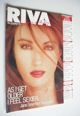 <!--1988-09-20-->Riva magazine - 20 September 1988 - Jane Seymour cover