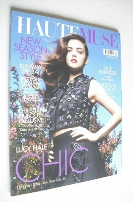 Haute Muse magazine - Lucy Hale cover (Issue 5)