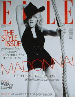 <!--2008-05-->British Elle magazine - May 2008 - Madonna cover