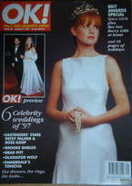 <!--1997-03-02-->OK! magazine - Patsy Palmer cover (2 March 1997 - Issue 49