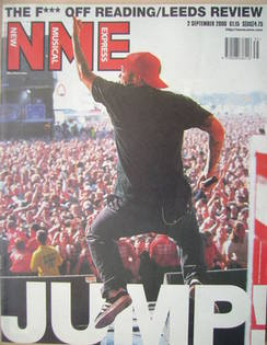 <!--2000-09-02-->NME magazine - Fred Durst cover (2 September 2000)