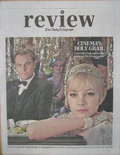 The Daily Telegraph Review newspaper supplement - 11 May 2013 - Leonardo Di