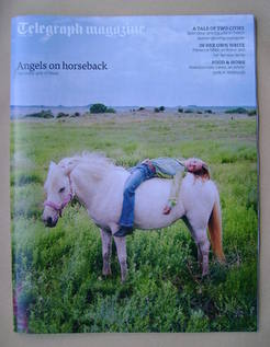 <!--2013-05-25-->Telegraph magazine - Angels on Horseback cover (25 May 201