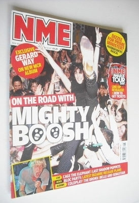 <!--2008-11-15-->NME magazine - The Mighty Boosh cover (15 November 2008)