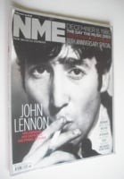 <!--2010-12-11-->NME Magazine - John Lennon cover (11 December 2010)