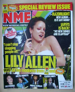 <!--2006-07-15-->NME magazine - Lily Allen cover (15 July 2006)
