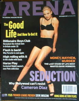 <!--1997-09-->Arena magazine - September 1997 - Cameron Diaz cover