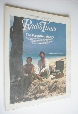 <!--1982-12-18-->Radio Times magazine - The Forgotten Voyage cover (18-24 D
