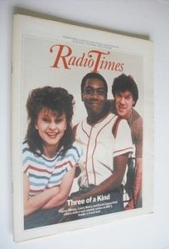 Radio Times magazine - Three Of A Kind cover (27 November - 3 December 1982)