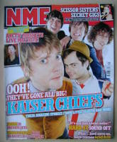 <!--2005-08-06-->NME magazine - Kaiser Chiefs cover (6 August 2005)