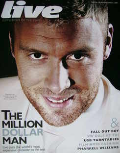 Live magazine - Andrew Flintoff cover (1 March 2009)