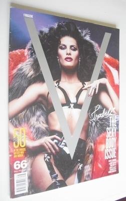 <!--2010-09-->V magazine - Fall Preview 2010 - Isabeli Fontana cover