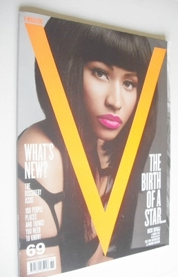 <!--2010-03-->V magazine - Spring Preview 2010 - Nicki Minaj cover