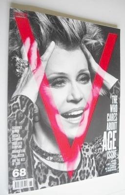 <!--2010-12-->V magazine - Winter 2010/11 - Jane Fonda cover