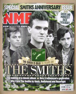 <!--2006-06-10-->NME magazine - The Smiths cover (10 June 2006)