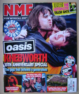<!--2006-08-05-->NME magazine - Oasis cover (5 August 2006)