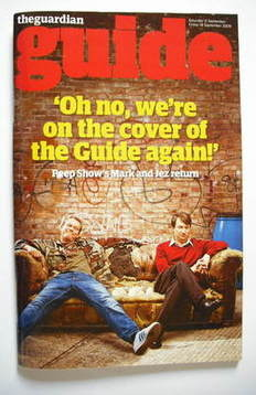 The Guardian Guide magazine - Robert Webb and David Mitchell cover (12 Sept