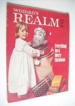 Woman's Realm magazine (27 December 1969)