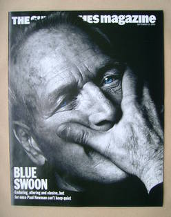 <!--2002-09-15-->The Sunday Times magazine - Paul Newman cover (15 Septembe