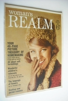 <!--1965-02-13-->Woman's Realm magazine (13 February 1965)