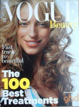 British Vogue supplement - The 100 Best Treatments (June 2004)