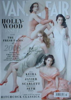 Vanity Fair magazine - The Fresh Faces of 2008 cover (March 2008)