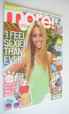 <!--2013-04-29-->More magazine - Beyonce Knowles cover (29 April 2013)