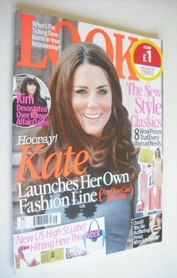 <!--2013-04-15-->Look magazine - 15 April 2013 - Kate Middleton cover