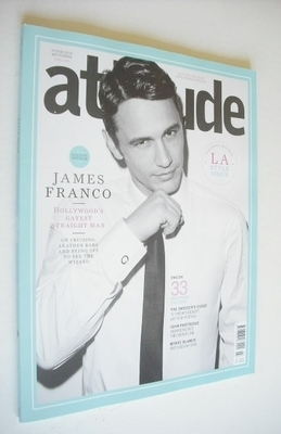 <!--2013-04-->Attitude magazine - James Franco cover (April 2013)