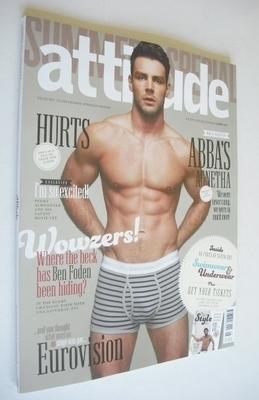 <!--2013-06-->Attitude magazine - Ben Foden cover (Summer 2013)