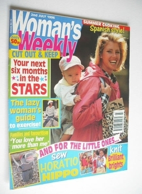 <!--1996-07-02-->Woman's Weekly magazine (2 July 1996)