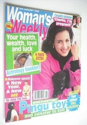 <!--1996-01-02-->Woman's Weekly magazine (2 January 1996)