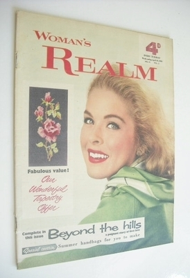 <!--1959-04-18-->Woman's Realm magazine (18 April 1959)