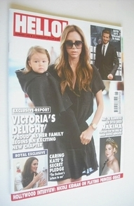 <!--2013-02-11-->Hello! magazine - Victoria Beckham cover (11 February 2013