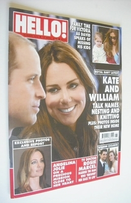 <!--2013-04-15-->Hello! magazine - Prince William and Kate Middleton cover