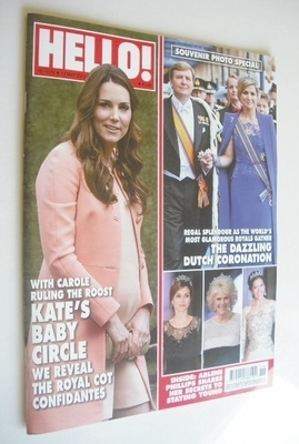 <!--2013-05-13-->Hello! magazine - Kate Middleton cover (13 May 2013 - Issu
