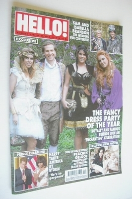 <!--2013-05-20-->Hello! magazine - Fancy Dress Party cover (20 May 2013 - I