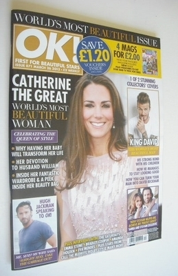 <!--2013-03-26-->OK! magazine - Kate Middleton cover (26 March 2013 - Issue
