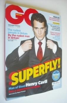 British GQ magazine - June 2013 - Henry Cavill cover