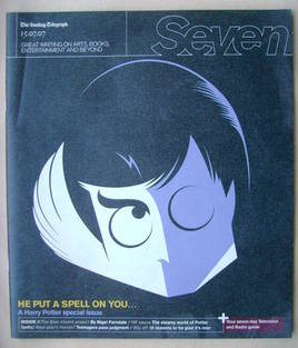 Seven magazine - Harry Potter cover (15 July 2007)