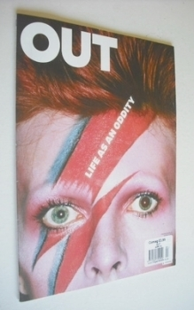 Out magazine - David Bowie cover (April 2013)