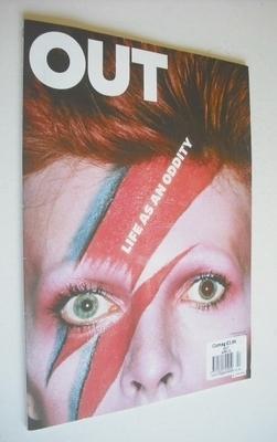 <!--2013-04-->Out magazine - David Bowie cover (April 2013)