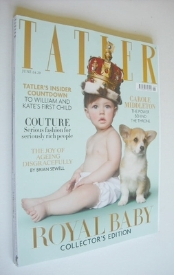 <!--2013-06-->Tatler magazine - June 2013 - Royal Baby cover