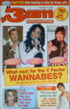 3am magazine - X Factor Wannabes (17 November 2004)