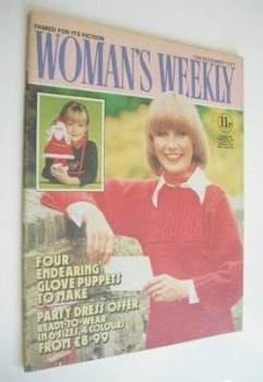 <!--1977-11-19-->Woman's Weekly magazine (19 November 1977 - British Edition)